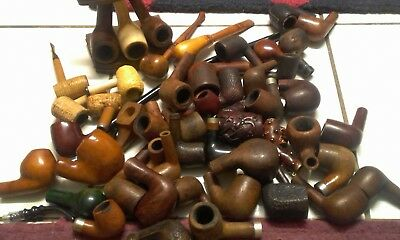 tobacco pipes lot
