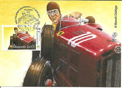 Alfa Romeo 8C2300, Tazio Nuvolari, First Day Card