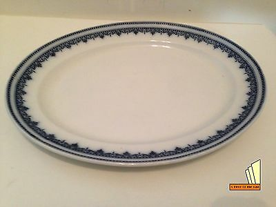 Antique Keeling & Co Losolware Dinnerware Oval Serving Plate