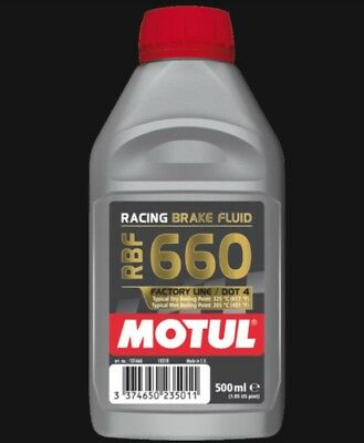 Motul Racing Brake Fluid Rbf 660 Factory Line / 500 Ml.