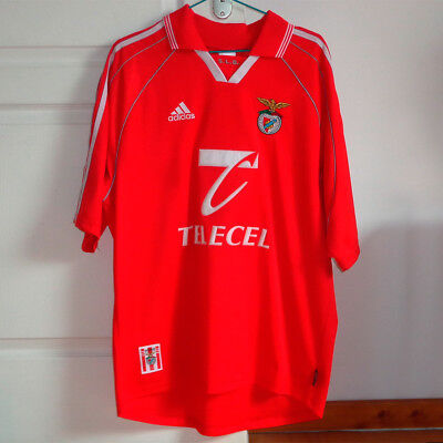 Benfica - Maillot, jersey, camiseta, maglia, trikot - 1997/98 - Taille L