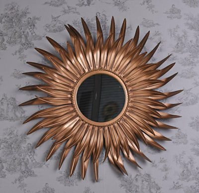 Star Vintage Mirror wadspiegel Baroque Baroque Mirror kupferspiegel