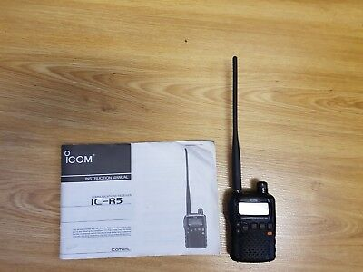 Icom IC-R5 Portable Radio Scanner