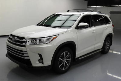 2017 Toyota Highlander  2017 TOYOTA HIGHLANDER XLE SUNROOF HTD SEATS NAV 6K MI #202628 Texas Direct Auto