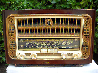 Poste  Radio  Ancien  A  Lampes