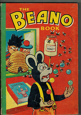 THE BEANO BOOK 1958 vintage comic annual