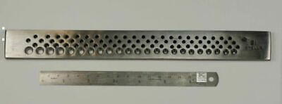 """Jewellers drawplate 91 round holes draw plate jewellery making crafts wire 10.5"""""""