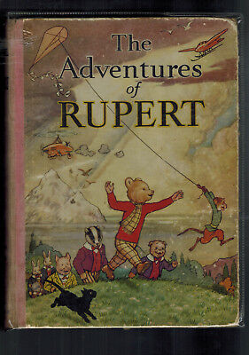 RUPERT ANNUAL 1939 good original book