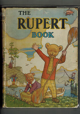 RUPERT ANNUAL 1941 nice original book