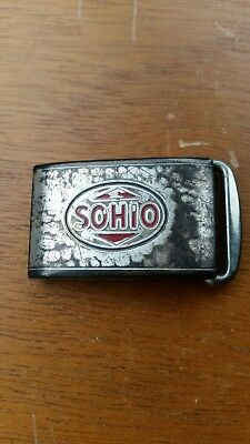 Sohio Hickok Belt Buckle Standard Oil