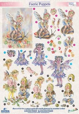 Dufex 3D Flower Fairies Set Metallgravur