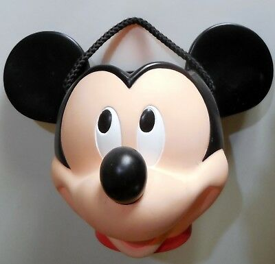 DISNEY APPLAUSE head TESTA SECCHIO VASO TOPOLINO MICKEY MOUSE PVC H:18 CM
