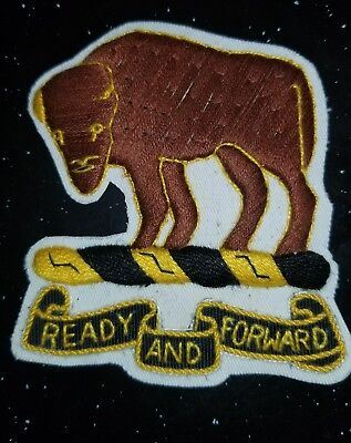 WWII US Army 10th Cavalry Theater Made Patch