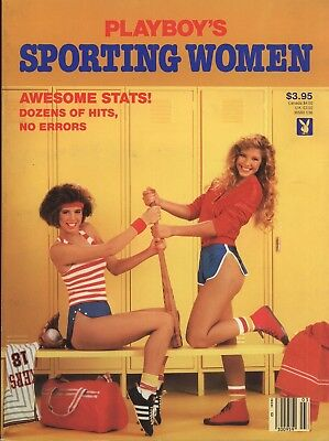 Playboy's Sporting Women 1986 Awesome Stats! Dozens of hits, No errors
