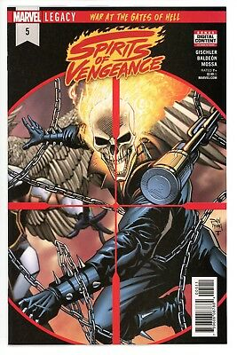 Spirits Of Vengeance  #5     * First Print *   Ghost Rider    Nm