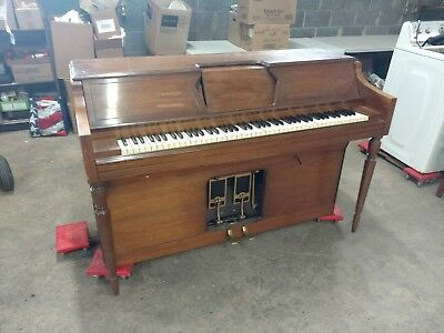 Ivers and Pond Piano Standard Pneumatic Action Player