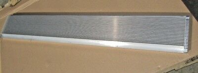 """21.5 Lb Large Aluminum Heat Sinks From Cell Tower Amplifier 47"""" x 7.5"""" x 2"""""""