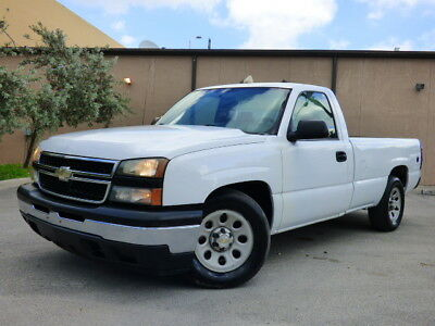 2007 Chevrolet Silverado 1500  2007 Chevrolet Silverado 1500 V6 4.3L Long bed 2 door work truck