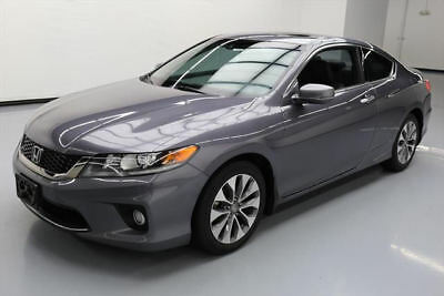 2013 Honda Accord EX-L Coupe 2-Door 2013 HONDA ACCORD EX-L COUPE SUNROOF HTD LEATHER 49K MI #017946 Texas Direct