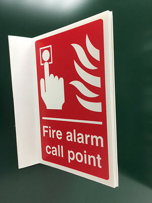 500x300mm Fire Alarm Call Point Projecting Sign