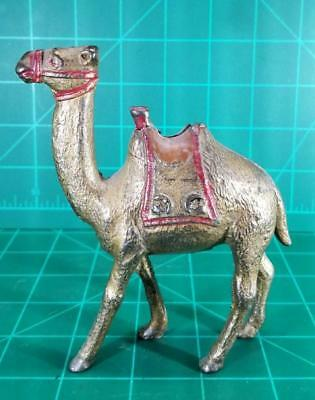 CAST IRON BANK SMALL CAMEL STILL BY A.C. WILLIAMS Original paint 1920s