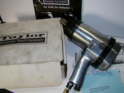 Taylor HD Pneumatic 3/4in Impact Wrench Gun T-7772 Great Condition Box $399 RTV