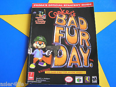 Conker's Bad Fur Day - Strategy Guide
