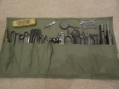 Vintage Spearpoint Spanners As Used In Norton Tool Kit And Other Tool Kit Items