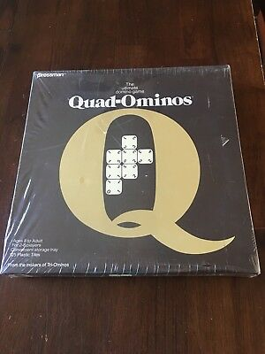 Vintage 1978 Quad-Ominos Domino Tile Game Pressman 4422 NIB Family Entertainment