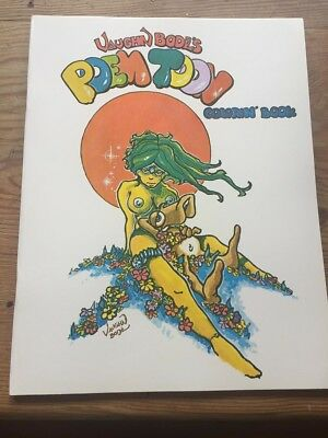 Vaughn Bode's Poem Toon Coloring Book Ltd Edition - signed by Mark Bode