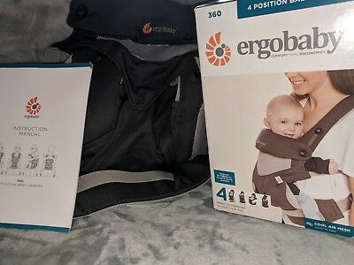 Ergo Cool Air 360. New in box. Carbon Grey color.