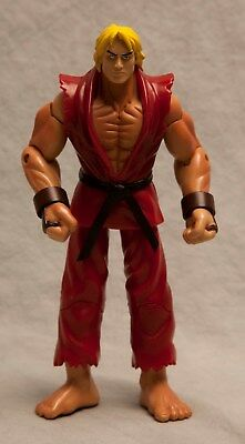 Ken Street Fighter Action Figure Red Outfit Japanese Capcom Toy Anime