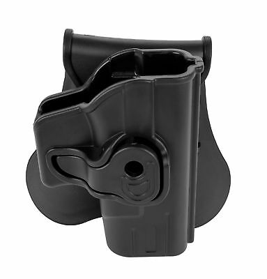 Paddle Holster Pistol Tactical Fits Glock 43 9mm 9x19 OWB Concealed Carry Arms