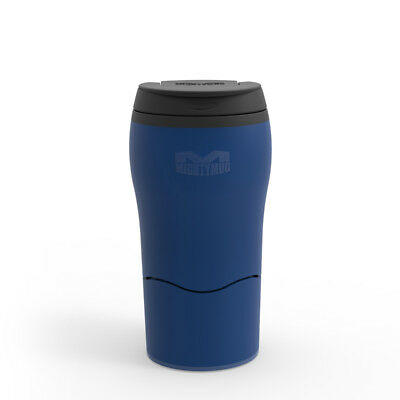 Mighty Mug Solo Travel Mug, Petroleum Blue 320ml Flask Thermos Unspillable Cup