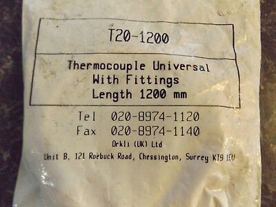 Orkli Universal Thermocouple 1200mm T20-1200