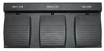 Heavey Duty FP-110USB Foot Control For Handsfree Dictation Application