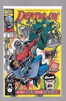 DEATHLOK 2 SIGNED MIKE MANLEY Misty Knight Forge Dwayne McDuffie Michael Collins