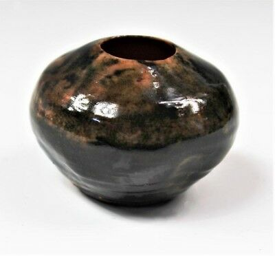 Small George Ohr Pottery Bowl - Marked OHR Biloxi on Bottom