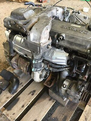 Toyota Landcruiser 80 Series Diesel Multi Valve 4.2 1Hdft Turbo Engine