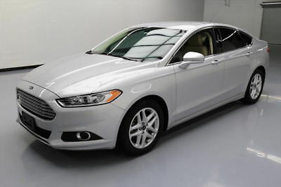 2016 Ford Fusion SE Sedan 4-Door 2016 FORD FUSION SE ECOBOOST HTD LEATHER REAR CAM 16K #388318 Texas Direct Auto