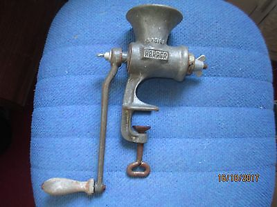 Vintage meat mincer, Beatrice Made in England,Harper No 3181