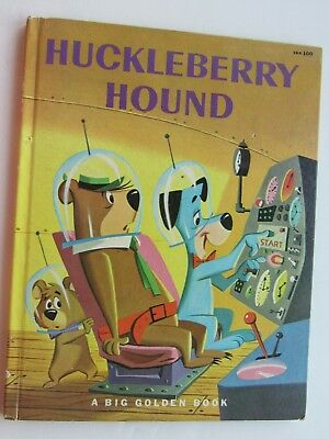 Huckleberry Hound 1960 by Carl Memling-A Big Golden Book