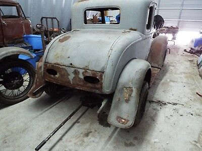 1932 Ford 5-Window Coupe  1932 FORD, 5-Window Coupe, Steel Barn Find. NO RESERVE. Rat Rod. Hot Rod.