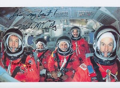 Michael J. McCulley Signed Photo NASA Astronaut Autographed Space Mike Autograph