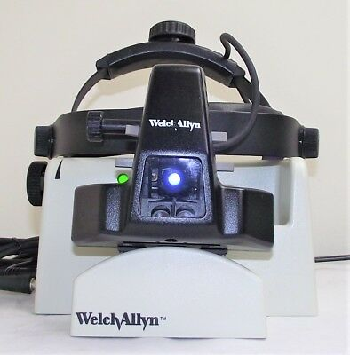 Welch Allyn 12500 Indirect Bio Opthalmoscope Headset & Wall Mount