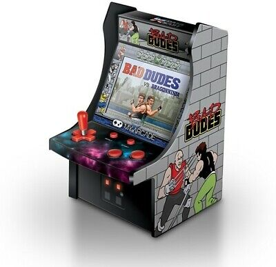 My Arcade Bad Dudes Micro Arcade Machine