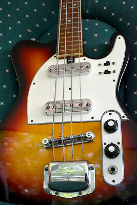 Vintage 70s short scale Coronet bass guitar - Made in Japan