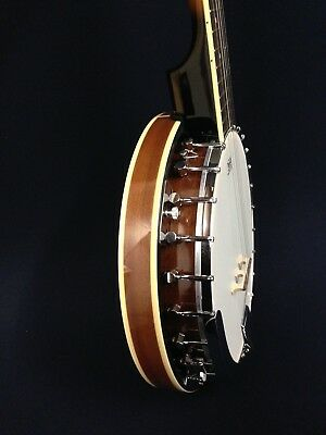 Caraya BJ-005 Mahogany Back 5-String Banjo + Gig Bag