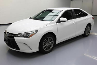2016 Toyota Camry  2016 TOYOTA CAMRY SE LEATHER BLUETOOTH REAR CAM 25K MI #508587 Texas Direct Auto