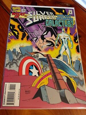MARVEL COMICS What If... The Silver Surfer Had Not Betrayed Galactus? #70 Feb.